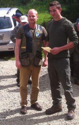 links LSO Thomas Rummler, rechts Simon Gläser